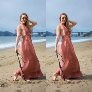 0dca989e91 Free People Dresses - Free People Look Into the Sun Maxi Dress